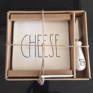 "Rae Dunn ""CHEESE and CUT"""